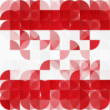 Vector modern geometrical abstract background. Stock Images