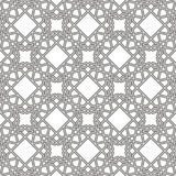 Vector modern geometry pattern hexagon, abstract geometric background, trendy print, monochrome retro texture, hipster fashion des Royalty Free Stock Photos