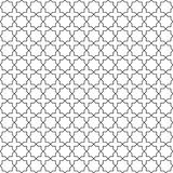 Vector modern geometry pattern hexagon, abstract geometric background, trendy print, monochrome retro texture, hipster fashion des Royalty Free Stock Photo