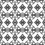 Vector modern geometry pattern hexagon, abstract geometric background, trendy print, monochrome retro texture, hipster fashion des Stock Images