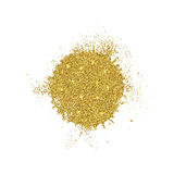 Vector modern gold glitter abstract background Stock Image