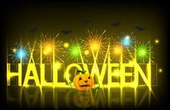 Vector modern halloween background. Stock Photography