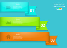 Vector modern infographic element design. Eps 10 Royalty Free Stock Photography