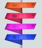 Vector modern infographic elementenontwerp. Eps 10 royalty-vrije illustratie