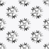 Vector modern mechanism seamless background Stock Photo