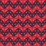 Vector modern naadloos kleurrijk de lijnenpatroon van de meetkundechevron, kleurensamenvatting Stock Foto