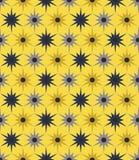 Vector modern naadloos kleurrijk meetkunde bloemenpatroon, kleuren abstracte geometrische achtergrond Royalty-vrije Stock Afbeelding