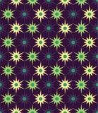 Vector modern naadloos kleurrijk meetkunde bloemenpatroon, kleuren abstracte geometrische achtergrond Royalty-vrije Stock Foto's