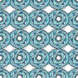 Vector modern naadloos kleurrijk meetkundepatroon, kleuren abstracte geometrische achtergrond, hoofdkussen multicolored druk Royalty-vrije Stock Afbeeldingen