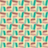 Vector modern naadloos kleurrijk meetkundepatroon, kleurensamenvatting Royalty-vrije Stock Fotografie