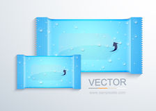 Vector modern packaging for wet wipes Stock Photo
