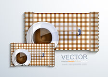 Vector modern packaging for wet wipes. Royalty Free Stock Photos