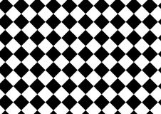 Vector modern pattern checkered ,black and white textile print Royalty Free Stock Images