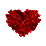 Vector modern red valentines day or 8 march Stock Photography