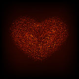 Vector modern red valentines day or 8 march Stock Photos