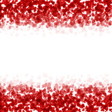 Vector modern red valentines day or 8 march Royalty Free Stock Photo