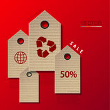 Vector modern sale infographic background. Stock Photography