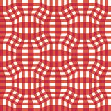 Vector modern seamless colorful geometry checkered pattern, color abstract geometric background Stock Photography