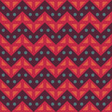 Vector modern seamless colorful geometry chevron lines pattern, color abstract Stock Photo