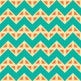 Vector modern seamless colorful geometry chevron lines pattern, color  abstract Stock Photos