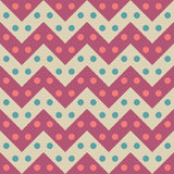 Vector modern seamless colorful geometry chevron lines pattern, color candy abstract Stock Photos