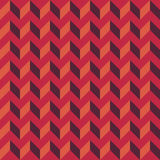 Vector modern seamless colorful geometry chevron lines pattern, color red orange abstract Stock Photo