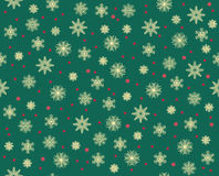 Vector modern seamless colorful geometry christmas pattern snowflakes, color abstract Stock Photos