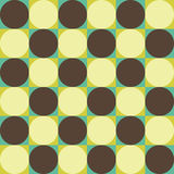 Vector modern seamless colorful geometry circle pattern, color abstrac. T geometric background, pillow multicolored print, retro texture, hipster fashion design Stock Photography