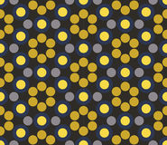 Vector modern seamless colorful geometry circle pattern, color abstract Stock Photos