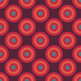 Vector modern seamless colorful geometry circles pattern, color abstract Stock Photo