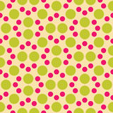 Vector modern seamless colorful geometry dot pattern. color abstract geometric background Stock Photography