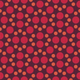 Vector modern seamless colorful geometry dot pattern. color abstract geometric background Stock Image