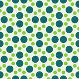 Vector modern seamless colorful geometry dot pattern. color abstract geometric background Stock Images