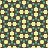 Vector modern seamless colorful geometry dot pattern. color abstract geometric background Stock Photo