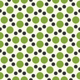 Vector modern seamless colorful geometry dot pattern. color abstract geometric background Stock Photos