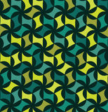 Vector modern seamless colorful geometry floral pattern, color abstract Stock Photography