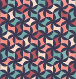 Vector modern seamless colorful geometry floral pattern, color abstract Royalty Free Stock Image