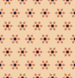 Vector modern seamless colorful geometry floral pattern, color abstract geometric background Stock Photo