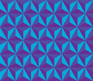 Vector modern seamless colorful geometry hexagon pattern, color blue abstract Royalty Free Stock Photo