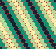 Vector modern seamless colorful geometry pattern, circles, color blue red Stock Photography