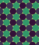 Vector modern seamless colorful geometry pattern, circles, color green blue Royalty Free Stock Photography