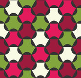 Vector modern seamless colorful geometry pattern, color abstrac Stock Images