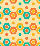 Vector modern seamless colorful geometry pattern, color abstrac. T geometric background, pillow multicolored print, retro texture, hipster fashion design Royalty Free Stock Photo