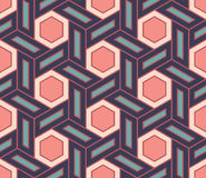 Vector modern seamless colorful geometry pattern, color abstract Stock Photography