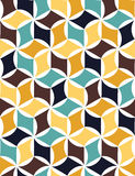 Vector modern seamless colorful geometry pattern, color abstract Royalty Free Stock Photos