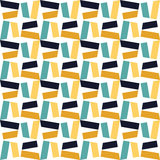 Vector modern seamless colorful geometry pattern, color abstract Royalty Free Stock Images
