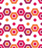 Vector modern seamless colorful geometry pattern, color abstract Stock Photo
