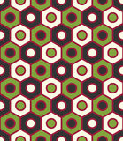 Vector modern seamless colorful geometry pattern, color abstract geometric background Royalty Free Stock Images