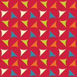 Vector modern seamless colorful geometry pattern, color abstract geometric background Royalty Free Stock Photo