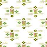 Vector modern seamless colorful geometry pattern, color abstract geometric background, pillow multicolored print. Texture, fashion design, ceramic style Royalty Free Stock Photos